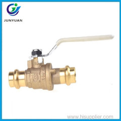 Wholesale price 90 degree 3 inch brass lockable cock ball valve