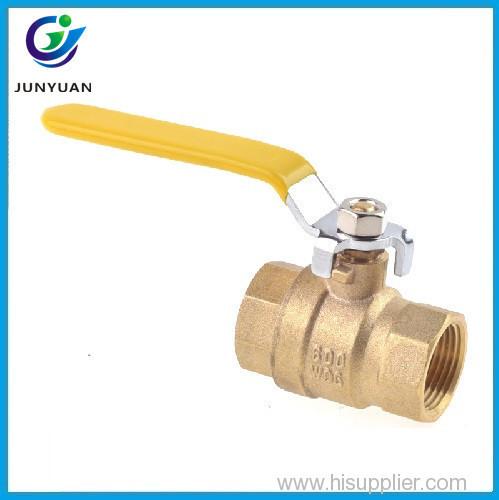 Various models water medium pressure brass spring return ball valve