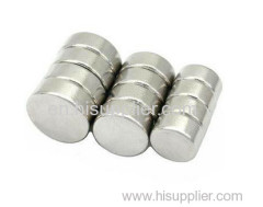 SGS Qualified Permanent Neodymium sintered Disc magnet
