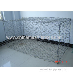 Hot-dipped Galvanized Hexagonal Gabion Box Made In China
