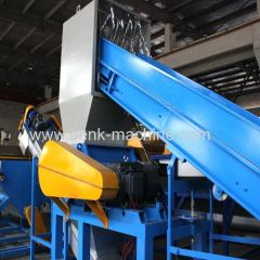 Plastic waste bottle recycling machine for sale