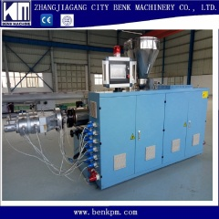 PVC pipe production extrusion line making machine