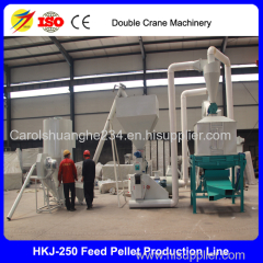 poultry animal feed production line chicken feed making line