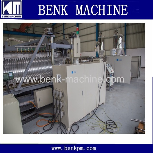 double wall corrugated pipe extrusion production line