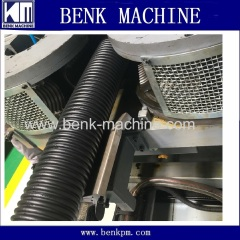 hdpe corrugated pipe making machine