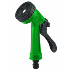 Plastic 5 pattern Garden Spray Gun