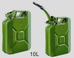 metal fuel container to pack with fuel and gasoline