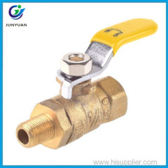 Factory price small commercial oven mini ball brass gas stove valve