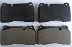 Brake pads for Land Rover.semi metallic material