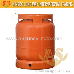Camping Stainless Propane 6kg LPG Gas Cylinder