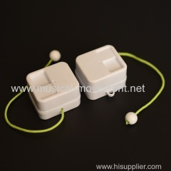 Custom Color Neon Green Pull String Music Boxes