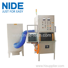 induction motor stator coil powder coating machine oven