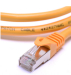 3m Yellow Fluke sstp cat6a patch cable/patch lead/patch cord