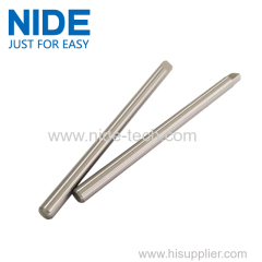Single phase gear motor worm shaft