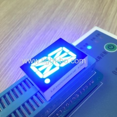 "Ultra blue 0.8"" 16 segment led display common anode for process control"