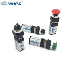 5 way pneumatic mechanical lockable valve