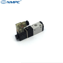 spring return pilot 3 way solenoid valve 220v