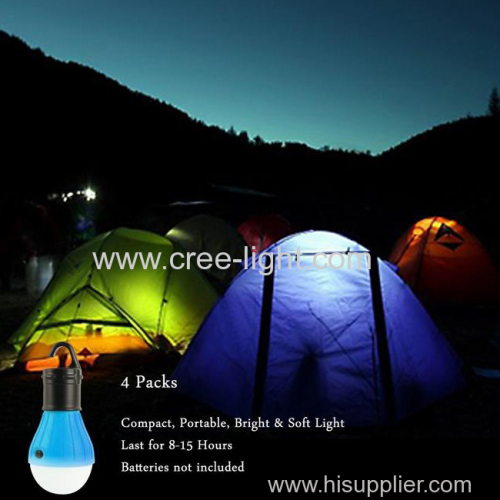 Portable LED Light Bulb Battery Powered Outdoor Camping Lights