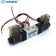 bus door air pneumatic valves double coils solenoid valves