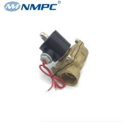 2 ways water air gas oil solenoid valve