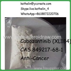 USP Effectual APIS Anti-Cancer small-molecule inhibitor Cabozantinib (XL184) CAS 849217-68-1