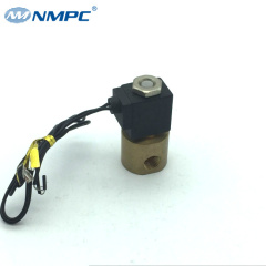 24v 12v dc 2 way mini air solenoid valve for dental machine