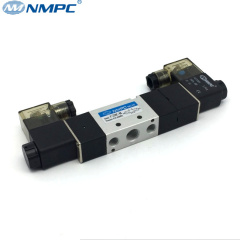 24v 12v 110v 220v 3 position pneumatic center closed solnoid valve
