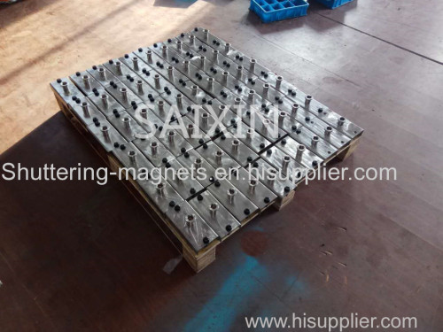 Stainless Steel Shuttering magnets 1000KGS Precast Concrete magnet box permanent magnets
