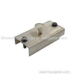 SAIXIN brand stainless steel 800KGS shuttering magnet