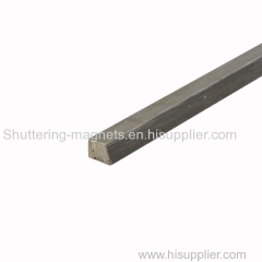 trapezoid steel magnetic chamfer precast concrete chamfer concrete formwork magnet chamfer