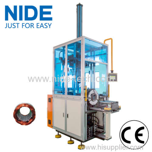 Stator Wire Forming Machine coil winding shaping machine for washing machine motor