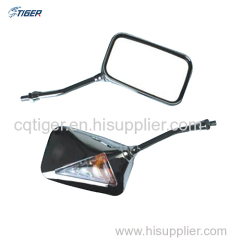 Motorcycle CNC side view mirror