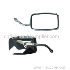 Motorcycle square side view mirror 10mm 8mm