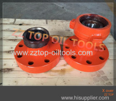 Oilfield Wellhead X-over WECO Flange 2-9/16