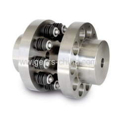 china manufacturer flange flexible coupling