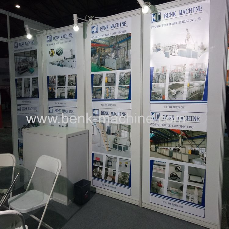 BenK machinery co., ltd. attend SWOP exhibition in Shanghai