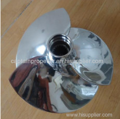 China Factory Price 4 Blades Frosted Stainless Steel Jet Ski Impeller For VX700