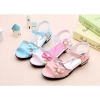 Kids open toe velcro dress sandals