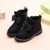 Children inside zipper ankle boots