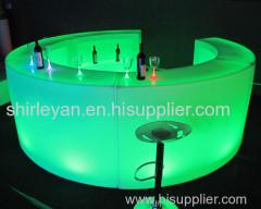 led bar furniture/led bar counter/led wedding furniture