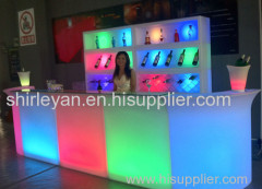 Outdoor party and event bar counter