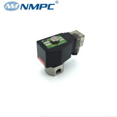 2 way 200 bar high pressure stainless steel solenoid valve