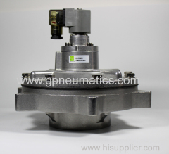 Immersion pulse valve for square tank