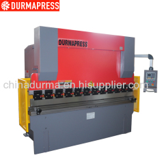 WC67K-63T3200 CNC press brake with E200 control system