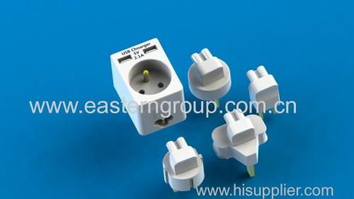 universal power adapter travel plug