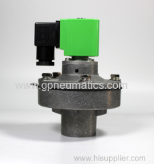 Square tank global pulse valve