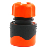 "Plastic soft 1/2"" water hose waterstop female quick connector"