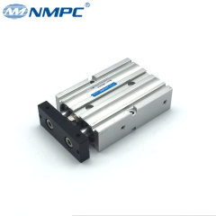 TN dual shaft pneumatic compact cylinder