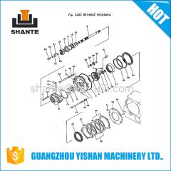 Gear Pump High Pressure Hydraulic Diesel Hydraulic Power Units07429-72500