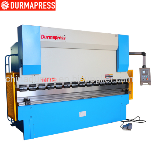 hydraulic press brake bending machine model WC67Y 100/3200